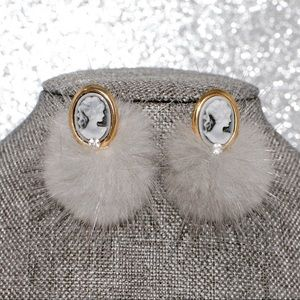 Furry studs ✨